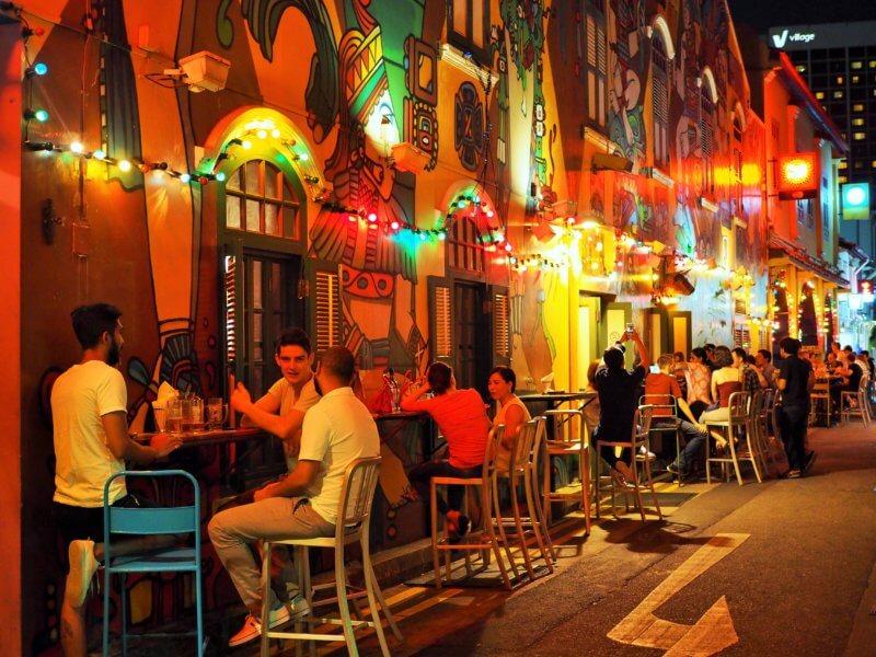 Hip Café in Signapore