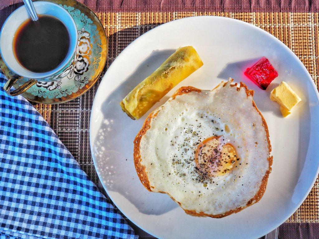 Typical Ella breakfast