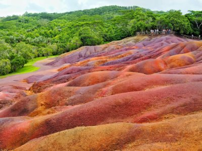 Chamarel Seven Colored Earth