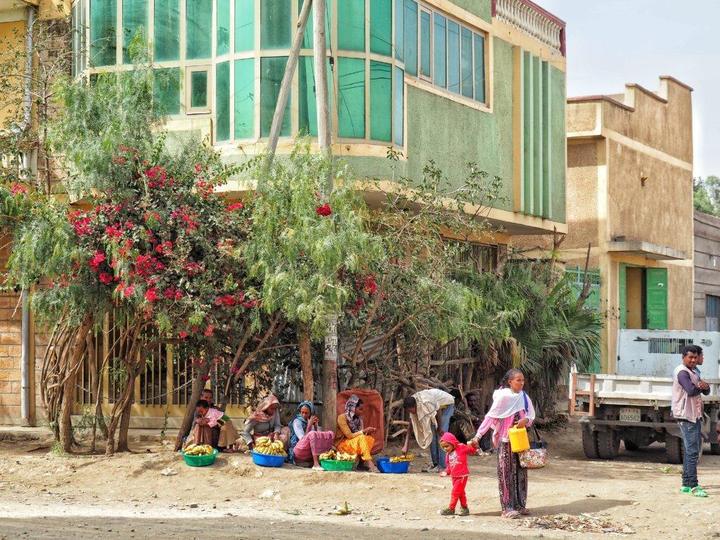 Market in Mekele