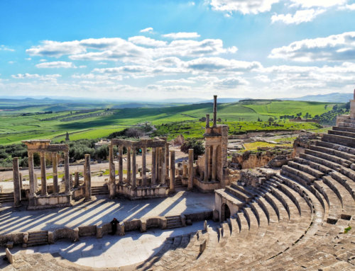 Tunisia during off-season: Dougga, Tunis, Monastir