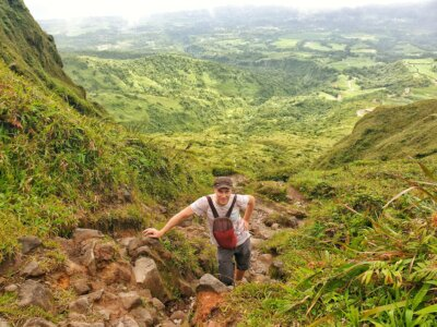 Conquering the volcano