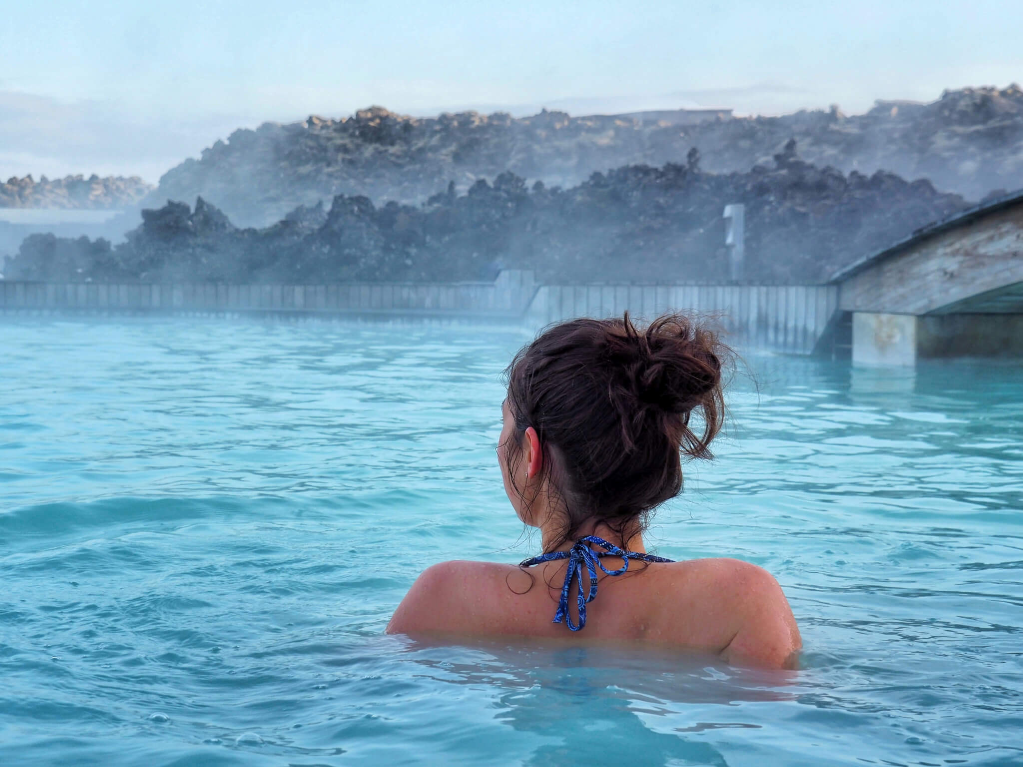 Girls trip to Iceland. Day five: Vík and Blue Lagoon