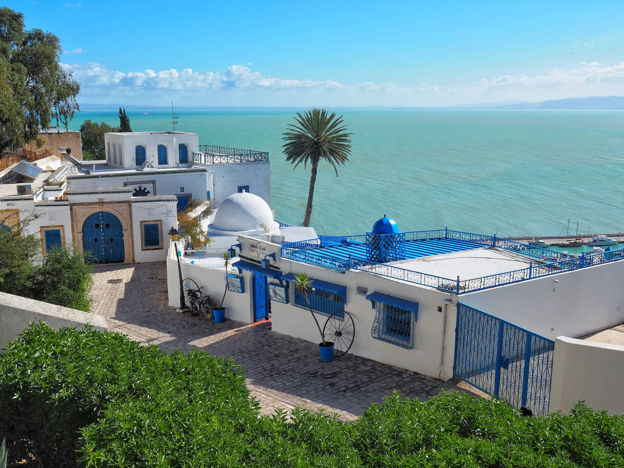Tunisia during off-season: Sidi Bou Said and Carthage